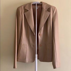 Zara Basic light cream colored jacket